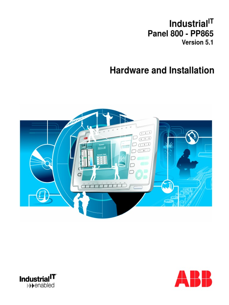 3bse043448r501 - En Panel 800 Pp865 5.1 Hardware and Installation ...