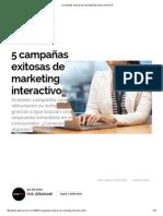 5 Campañas Exitosas de Marketing Interactivo _ Alto Nivel
