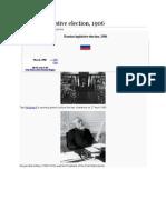 Russian Legislative Election 1906