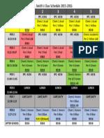 schedule smith 15 16