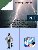 Tema 2 de Psicologia Medica