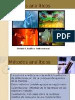 Mtodosanalticos Clase1anlisisinstrumental1 110712220103 Phpapp01