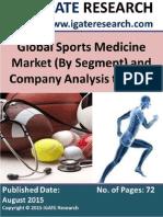 Global Sports Medicine Market to 2020