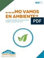 ¿Cómo vamos en ambiente? Informe de Lima Cómo Vamos
