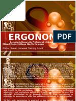 Ergonomics Spanish