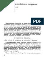 Héctor Díaz Polanco - Análisis de los movimientos campesinos