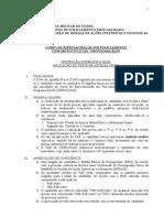 Instrução Normativa - Teste de Aptidão Física