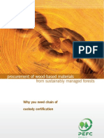 Responsible Procurement of Wood-Based Material from Sustainably Managed Forests