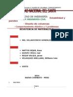 Modelo Informe, Columnas