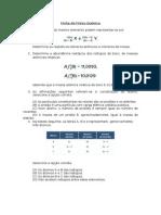 Ficha de Físico Química10