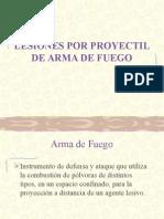 Proyectil de arma de fuego