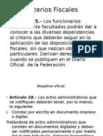 Criterios Fiscales