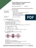 FISPQ Benzina, Retificada Ref 1221