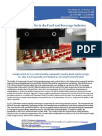 Compressed Air in the Food and Beverage Industry