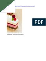 Harmonia Red Berry - De Facut