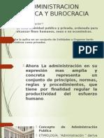 Administracion Publica y Burocracia