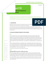 PEFC and FSC - Global Sustainable Forest Management Certification Schemes