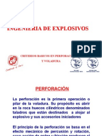 Criterios Basicos de Explosivos