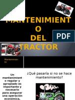 Mantenimiento del Tractor Agricola