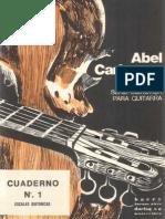 Abel Carlevaro - Cuaderno 1 - Escalas