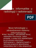 Primjena Informatike u Radiologiji i Radioterapiji II