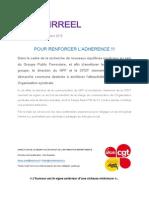 Temps Irreel Sur Accord GPF CFDT