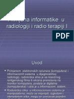Primjena Informatike u Radiologiji i Radio Terapiji I