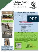 Newsletter - 10.12.2015