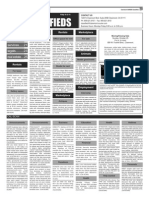 Claremont COURIER Classifieds 10-23-15