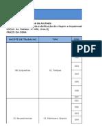Lista de Fornecedores e Orçamentos