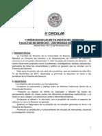 4º Circular - Iº Interescuelas de Filosofia Del Derecho