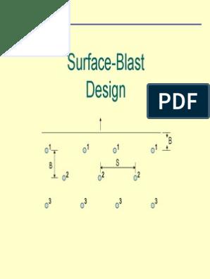 Surface Blast Design