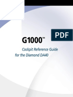 G1000 Diamond CockpitReferenceGuide DA40andDA40FSoftwareVersion0369.09orlater,DA40D0370.13