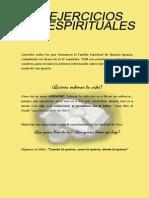 Presentación Ejerc. Espirituales