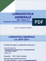 1. Introduzione Linguistica Generale