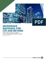 MKT2014066467EN 9500MPR Microwave Backhaul LTE AppNote