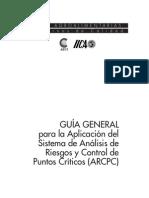 Guía General Para La Aplicación Del Sistema de Análisis de Riesgos y Control de Puntos Críticos