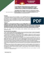 Aprovechamiento de Energias Renovables en el Marco de la Estrategia Nacional como Respuesta a los Acuerdos Multilaterales en Materia Ambiental