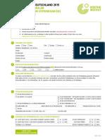 Bewerbungsformular Stipendium 2015-2