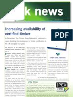 PEFC UK Newsletter (January 2010)