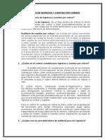 Auditoria de Ingresos y Cuentas - Casos Practicos