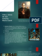 Vida y Obras de San Antonio María Claret