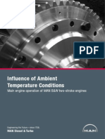 Influence of Ambient Temperature Conditions