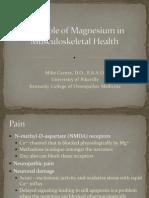 Carnes MagnesiumInMusculoskeletalHealth
