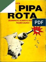 Domingo Alberto Rangel La Pipa Rota