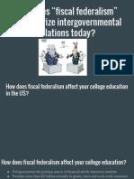 fiscalfederalism