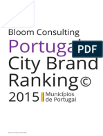 Bloom Consulting City Brand Ranking Portugal