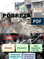 La Pobreza