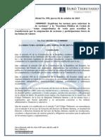 Documentos Como Comprobante de Venta Para Transferencia de Acciones - RO#599 - 1 Octubre 2015