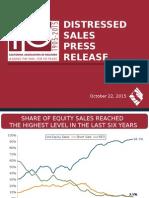 Distressed Sales - September 2015